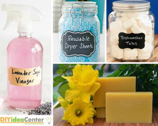 homemade cleaning products to detox your home