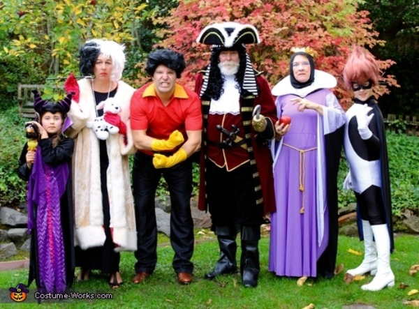 Purple Halloween costume ideas